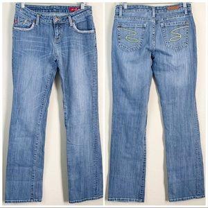 Seven7 Premium Denim Jeans Light Wash Sz 28